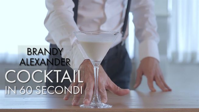 Cocktail in 60 secondi: Brandy Alexander